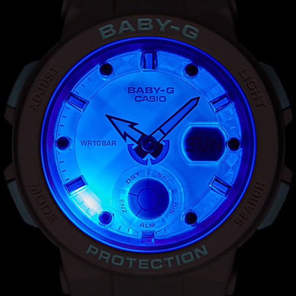 Электронные часы женские Casio G-Shock Baby-g bga-250-4a Pink