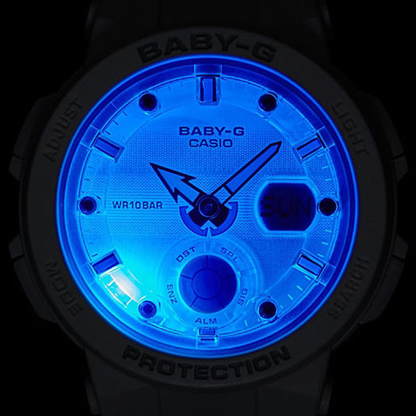 Электронные часы женские Casio G-Shock Baby-g bga-250-7a2 White