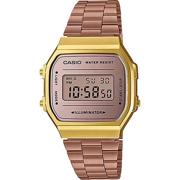 Электронные часы Casio Collection A-168wecm-5e Gold