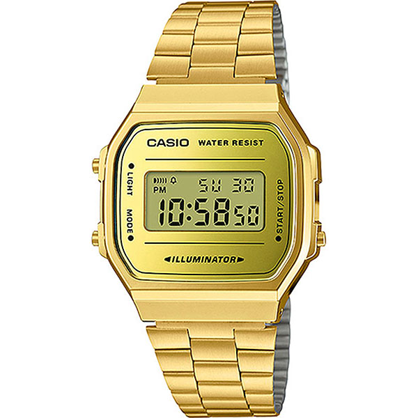 Электронные часы Casio Collection A-168wegm-9e Gold