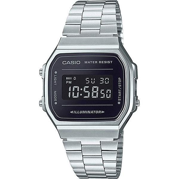Электронные часы Casio Collection A-168wem-1e Silver