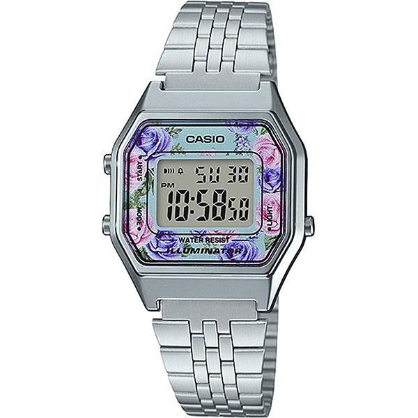 Электронные часы женские Casio Collection La680wea-2c Silver