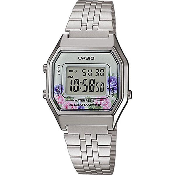 Электронные часы женские Casio Collection La680wea-4c Silver
