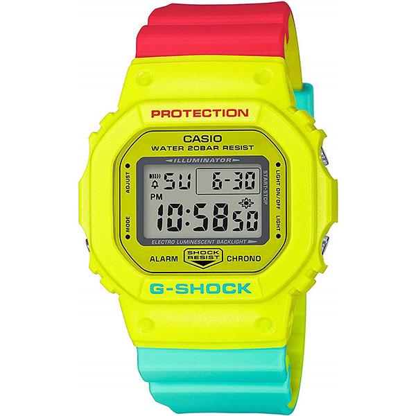 Электронные часы Casio G-Shock dw-5600cma-9e Rasta