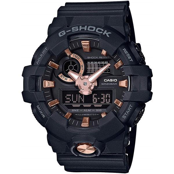 Электронные часы Casio G-Shock ga-710b-1a4 Black