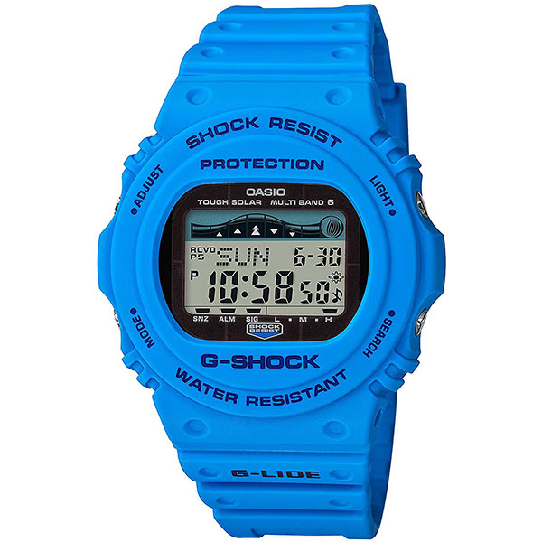 Электронные часы Casio G-Shock gwx-5700cs-2e Light Blue