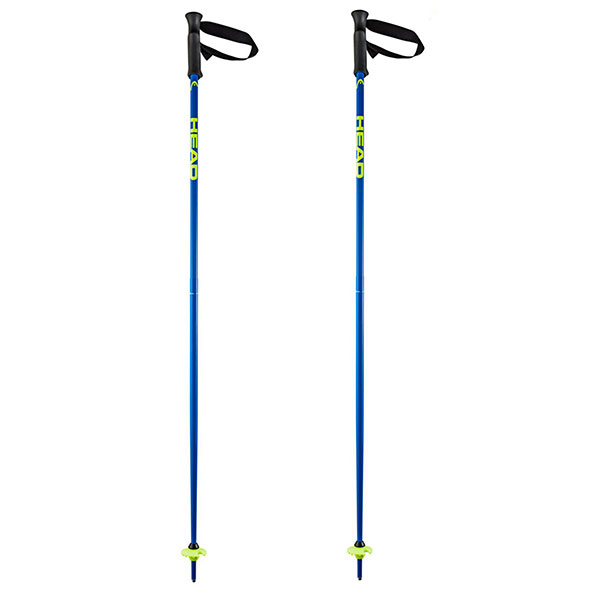 Лыжные палки Head 16 Mm 120 Black/Neon Blue