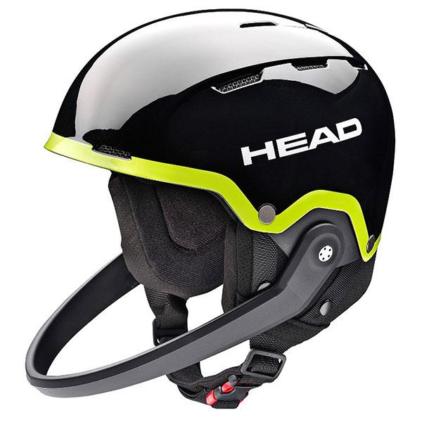 Шлем для сноуборда Head Team Sl + Chinguard Black/Lime