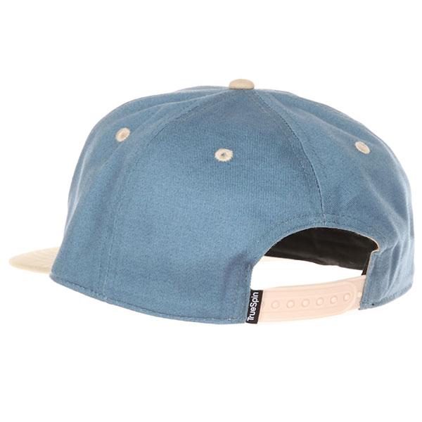 Бейсболка с прямым козырьком TrueSpin Next Lavel 2 Tones Light Blue/Beige