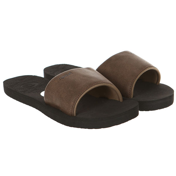 Шлепанцы женские Rip Curl P-low Slide Girls Brown