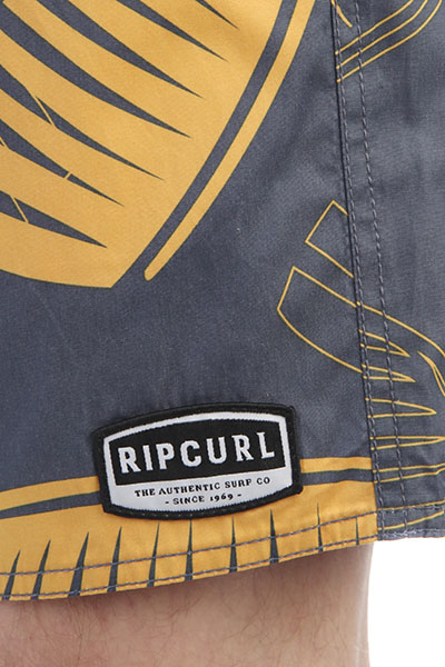 Шорты пляжные Rip Curl Volley Puawai 16 Old Gold