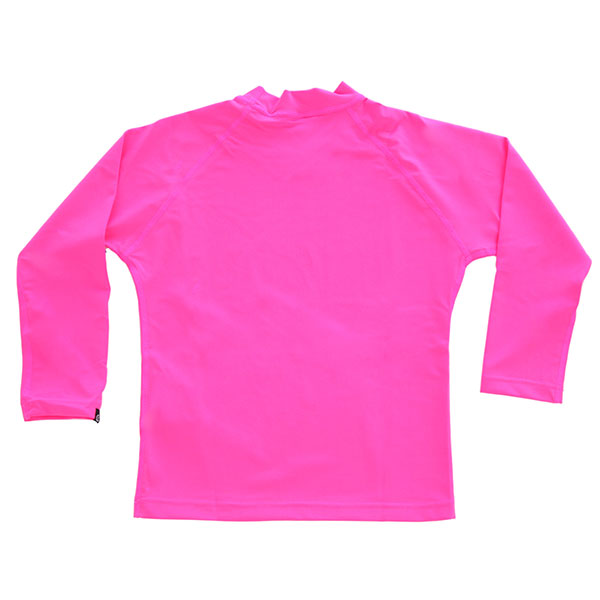 Гидрофутболка детская Rip Curl Jnr Girl Sunny Rays L/Sl Pink