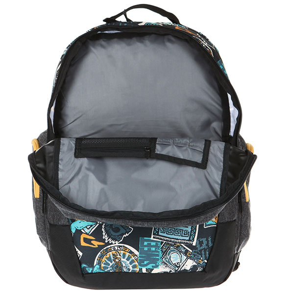Рюкзак городской QUIKSILVER Schoolieii Golden Yellow