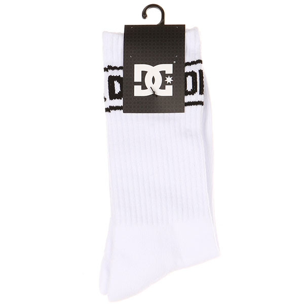 Носки средние DC Shoes Sock It Snow White
