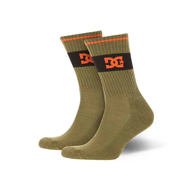 Носки средние DC Shoes To Me Burnt Olive