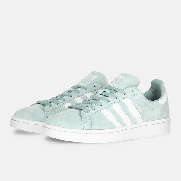 Кеды Adidas Campus Tac Green/White