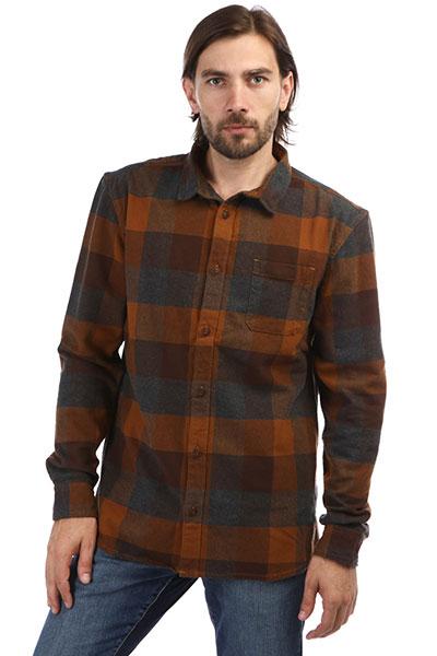 Рубашка QUIKSILVER с длинным рукавом Stretch Flannel