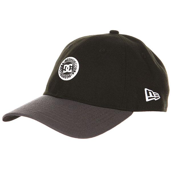 Бейсболка классическая DC Crocker Black