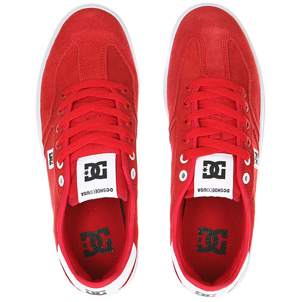 Кеды низкие DC Vestrey Red/Red/White