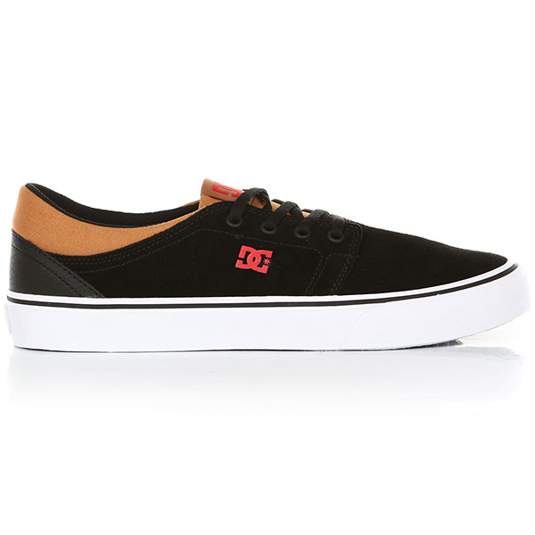 Кеды низкие DC Trase Sd Black/Red/Black