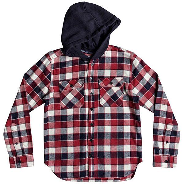 Рубашка утепленная детская DC Runnels Ls Boy Tango Red