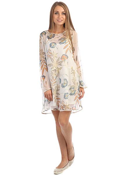 Платье женское Roxy Amazing Wave Marshmallow Bird Flo