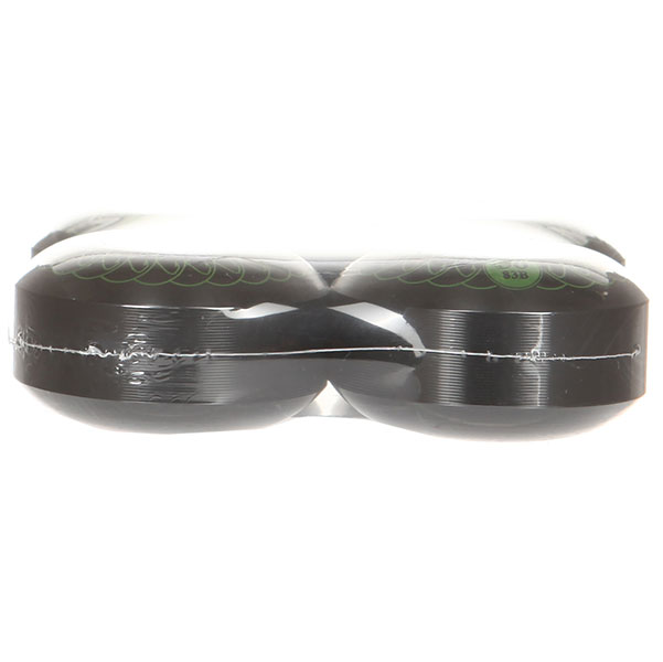 Колеса для скейтборда Nord Черная метка Black/Green 83B 56 mm