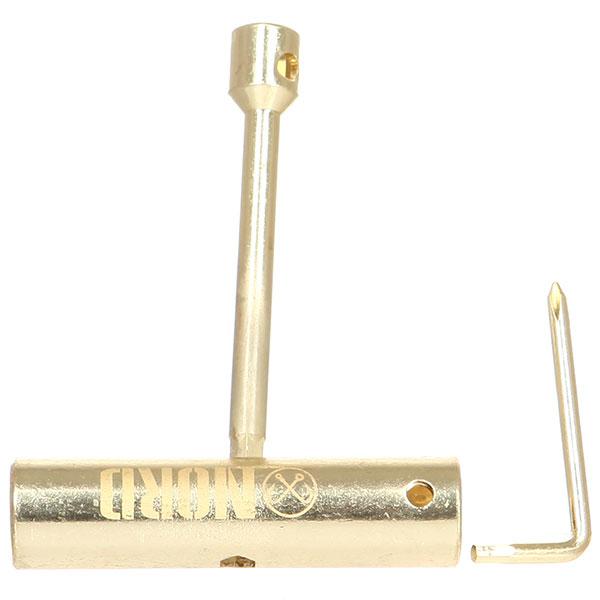 Ключ для скейтборда Nord Скейт-тул Gold