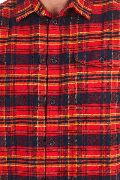 Рубашка в клетку DC Marsha Ls Tango Red