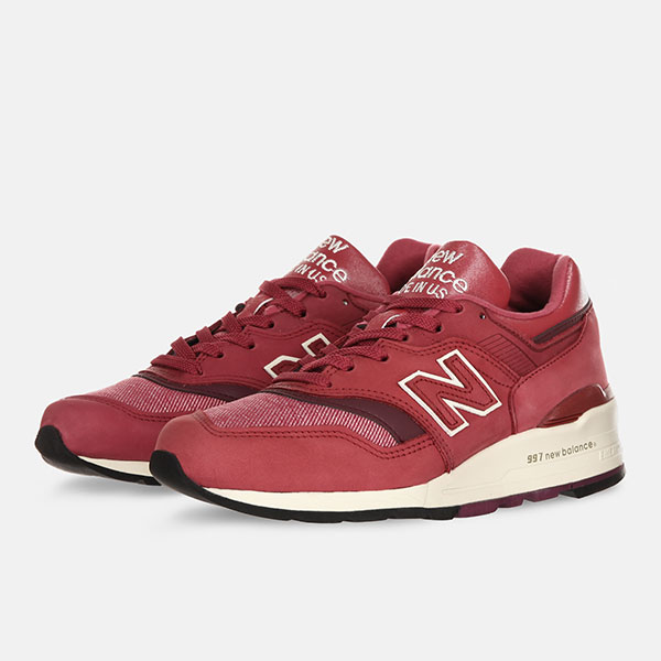 Кроссовки женские New Balance W997ER Traditionnels Pink