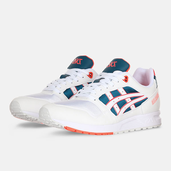 Кроссовки ASICS Tiger Gel-Saga White/Flash Coral