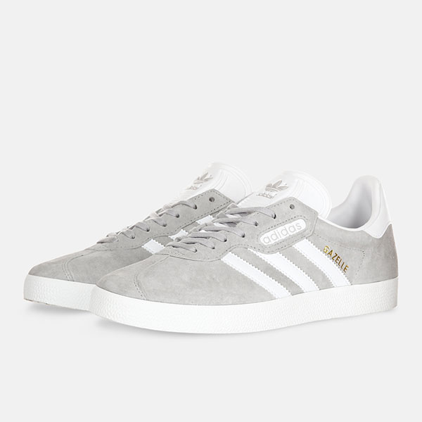 Кеды Adidas Gazelle Super Essential Grey
