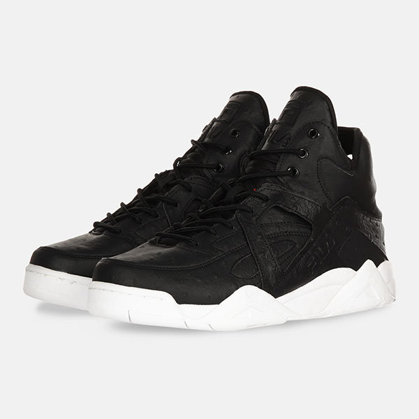 Кеды Fila The Cage Ostrich Black