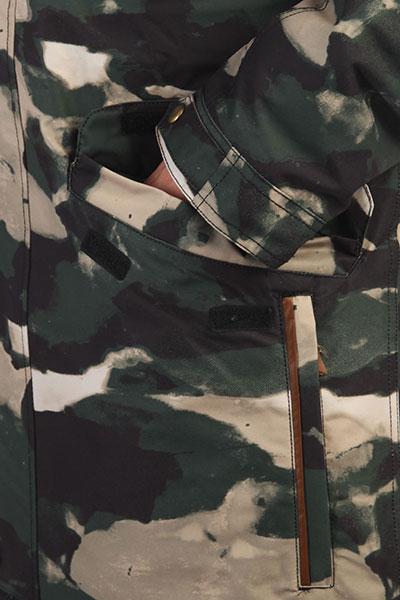 Куртка парка QUIKSILVER Cordova Parka Grape Leaf_resin Cam