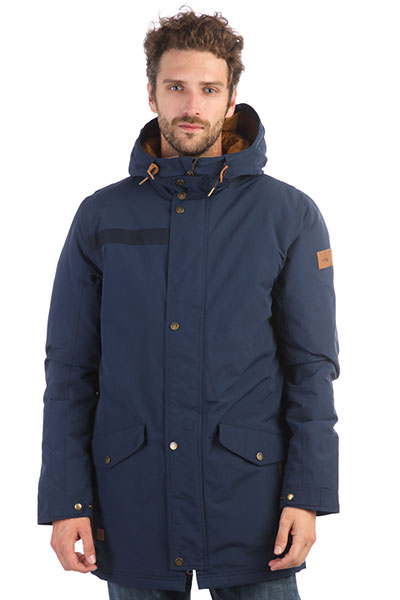 Куртка парка QUIKSILVER Cordova Parka Dress Blues