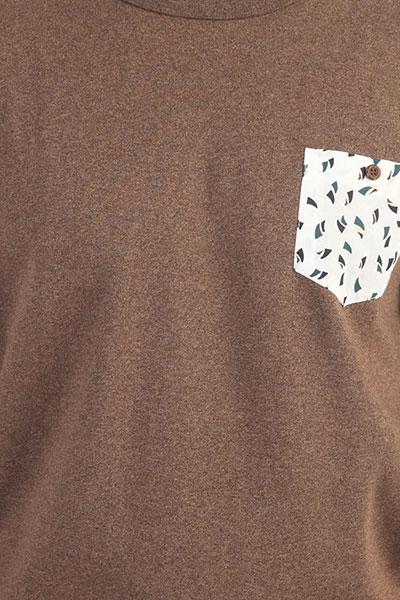 Толстовка классическая QUIKSILVER Takaoman Chocolate Brown Heat