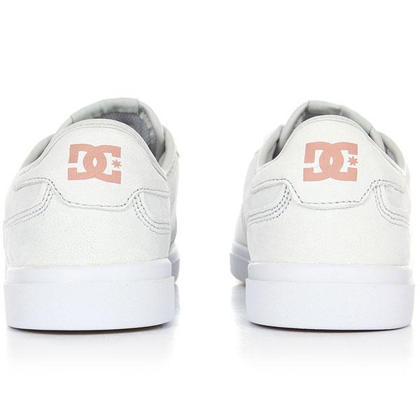 Кеды низкие женские DC Vestrey Le Grey/White