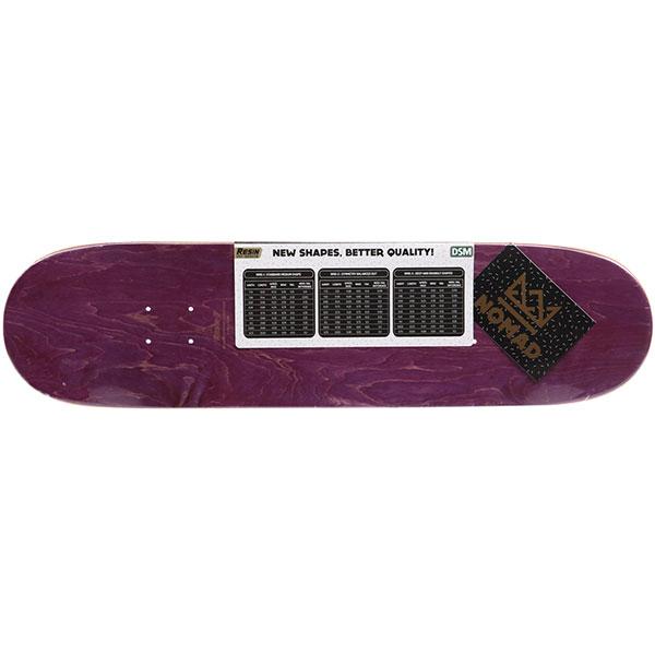 Дека для скейтборда Nomad Leyenda Del Genio Gold & Silver Deck Nmd1 31.78 x 8.41 (21.4 см)