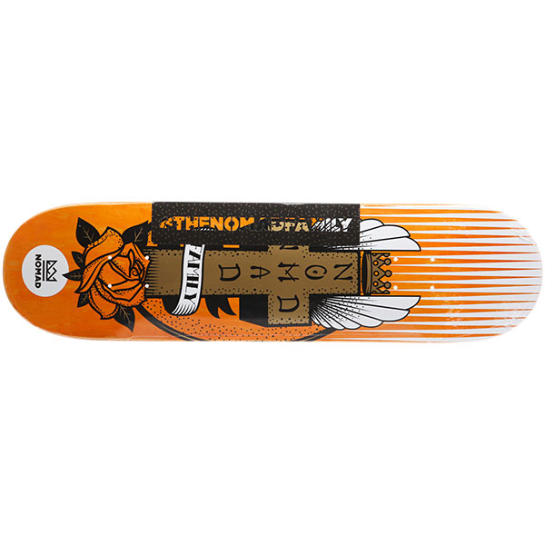 Дека для скейтборда Nomad Lords Orange Deck Nmd1 31.69 x 8.09 (20.5 см)