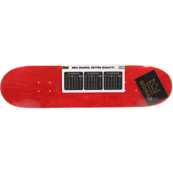 Дека для скейтборда Nomad Lords Red Deck Nmd1 32 x 8.25 (21 см)
