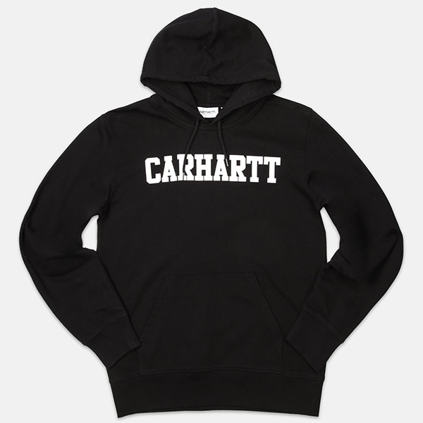 Толстовка Carhartt WIP Hooded College Sweatshirt Black