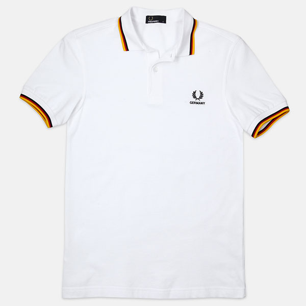 Поло Fred Perry M4600 Country Shirt White