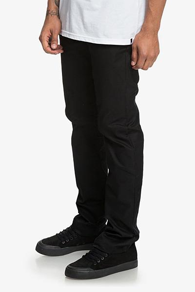 Штаны прямые DC Worker Straight Black