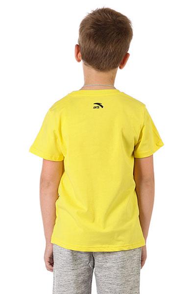 Футболка детская ANTA W35728142 Желтая