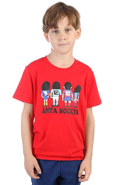 Футболка детская ANTA W35722142 красная