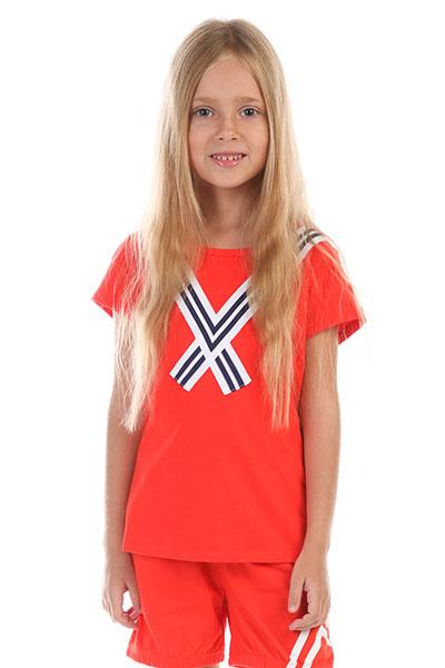 Футболка детская ANTA W36829145 Красная