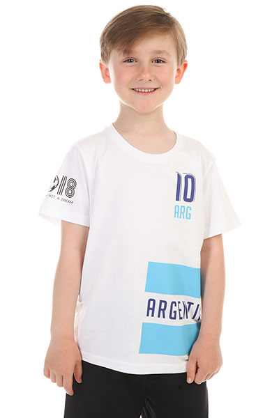 Футболка детская ANTA W35822172 Белая
