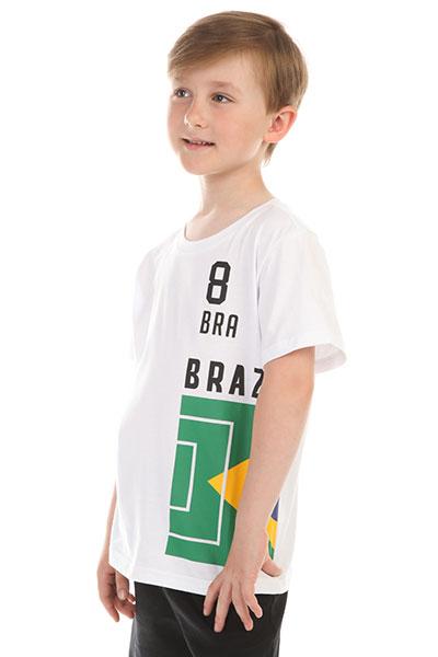 Футболка детская ANTA W35822172 Бeлая