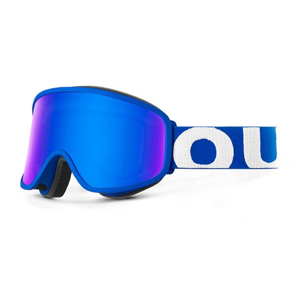 Маска для сноуборда OUT OF Flat Blue(blue Mci)