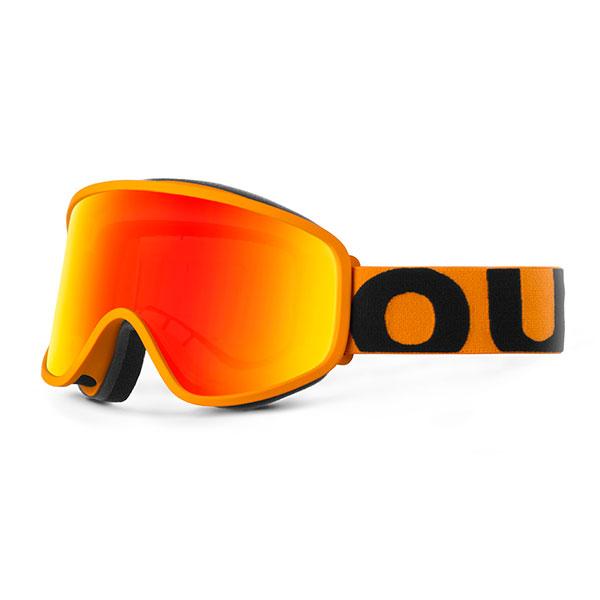 Маска для сноуборда OUT OF Flat Orange(red Mci)